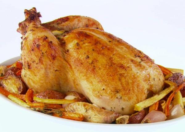 طريقة عمل الدجاج المحمر بالفرن