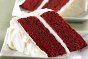 طريقة عمل الكيكة المخملية الحمراء