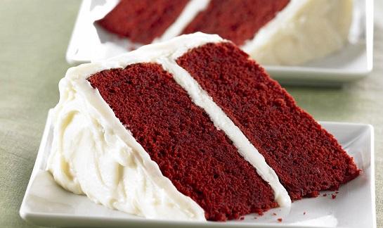 الكيكة المخملية