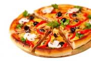 طريقة عمل بيتزا المطاعم بالصور