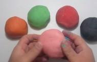 كيف نصنع معجون اطفال للعب بدون مواد سامة