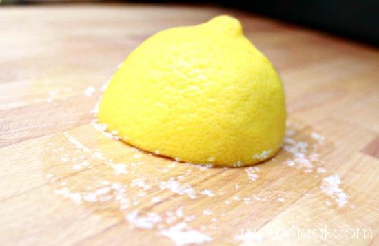الملح في التنظيف