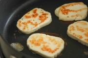 طريقة عمل الجبنة المقلية بالصور