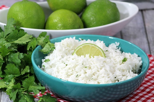 طريقة عمل الأرز بالليمون