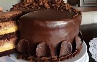 طريقة عمل كيكة الشوكولاته موس