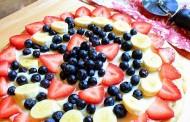 طريقة عمل بيتزا الفواكه