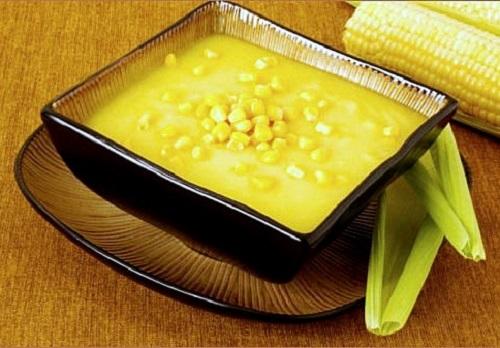 شوربة الذرة بدون دجاج