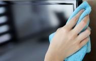 كيفية تنظيف شاشة التلفزيون بلازما