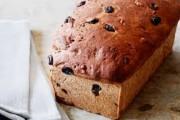 طريقة عمل قالب الخبز بالزبيب