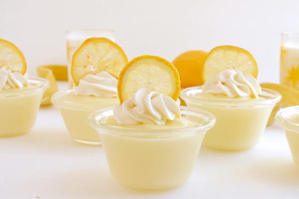 طريقة عمل بودنج الليمون بالصور