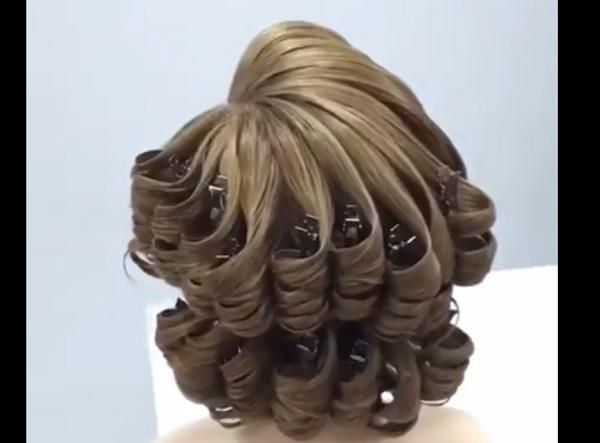 كيف تحصلين على شعر كيرلي بالفير