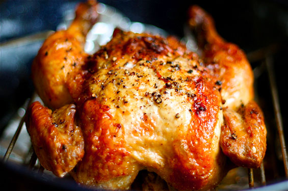 طريقة دجاج الشواية بالفرن بالصور