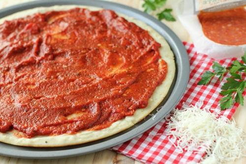 طريقة عمل صلصة البيتزا الجاهزه