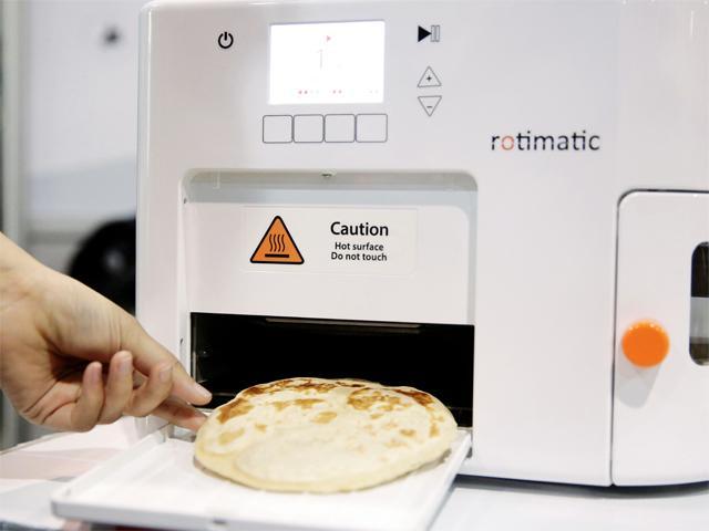ماكينة صناعة الخبز