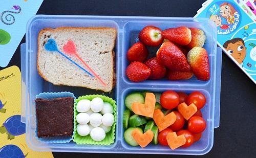 وجبات الاطفال للمدرسة