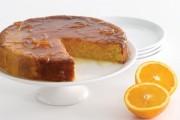 طريقة عمل كيكة البرتقال بطحين الذرة