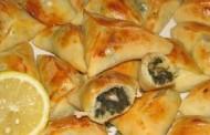 فطائر السبانخ اللبنانية بالصور