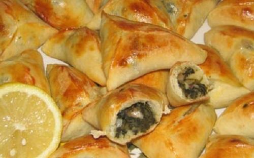 فطائر السبانخ اللبنانية