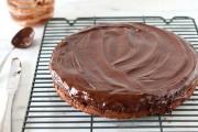 طريقة عمل كيكة الشوكولاتة بدون طحين
