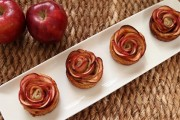 حلى وردات التفاح بالصور