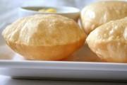 عجينة خبز البوري الهندي