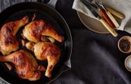 طريقة دجاج بالزبدة في الفرن