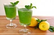عصير ليمون بالنعناع مثلج