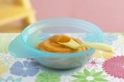 بوريه البطاطا الحلوة للرضع