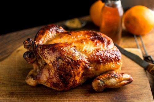 دجاج مشوي بالعسل