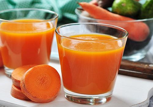 سموثي البرتقال والجزر