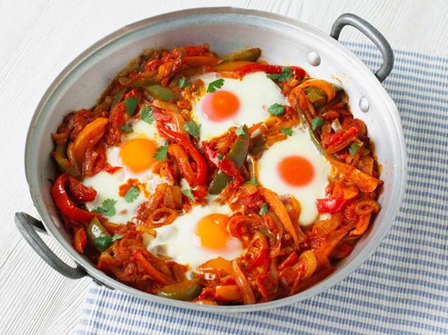 البيض التركي