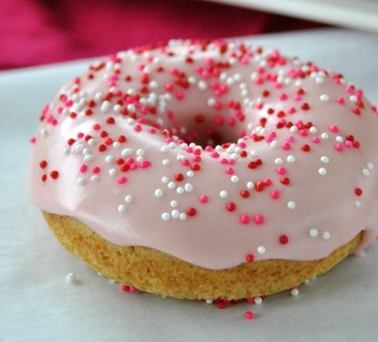 طريقة صوص الدونات الوردي