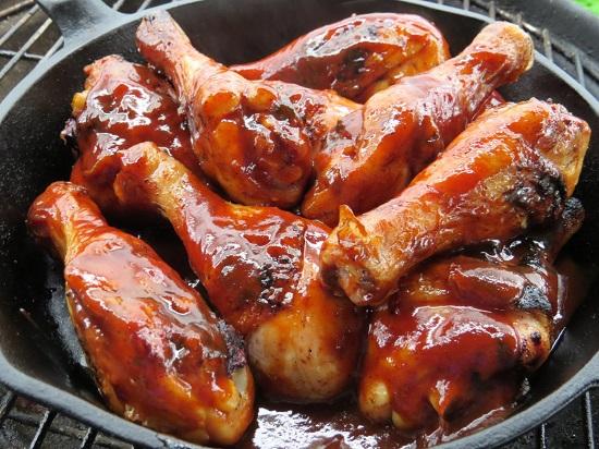 اطيب دجاج مشوي على الفحم