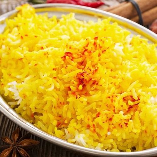 طريقة عمل ارز بالزعفران ايراني
