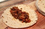 طريقة عمل بوريتو اللحم المفروم