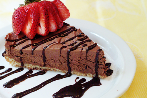 تشيز كيك الشوكولاتة