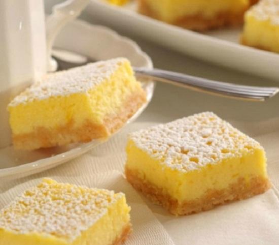 طريقة حلى الليمون البارد بالصور