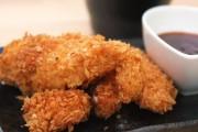 شرائح الدجاج المقلية المقرمشة