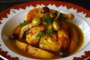 طاجن دجاج بالزيتون مغربي رووعة