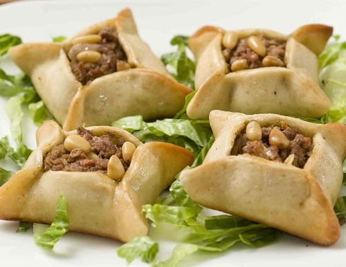 صفيحة اللحم اللبنانية