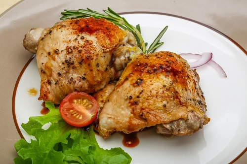 فخذ دجاج من وصفات رجيم اتكنز