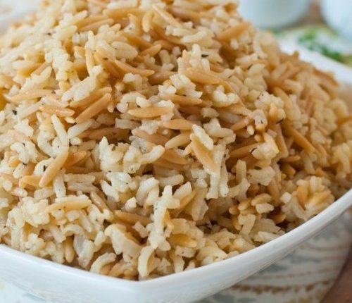 ارز مفلفل بالشعيرية