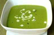 شوربة البازلاء الخضراء للرجيم