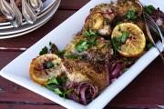 دجاج مشوي بالزعتر والليمون وصفة شهية