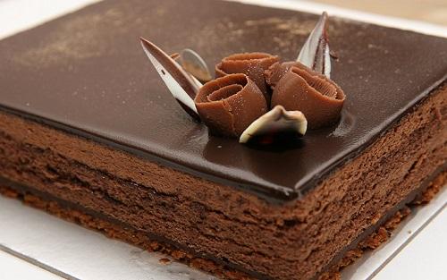 كيكة الشوكولاته السوداء