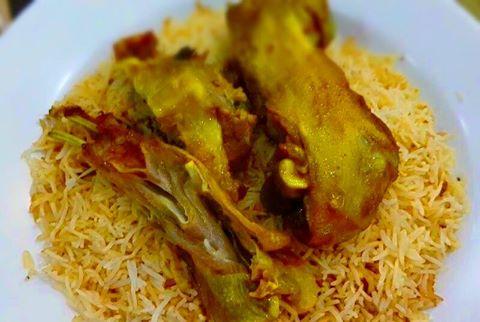 مطعم بيت المندي دبي البرشاء
