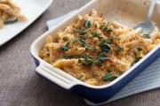 مكرونة بالبشاميل والجبن وصفة ايطالية