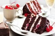الكيكة السوداء السحرية وصفة شهية
