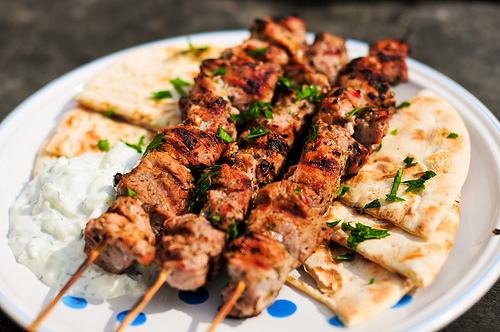اكلات اليونان