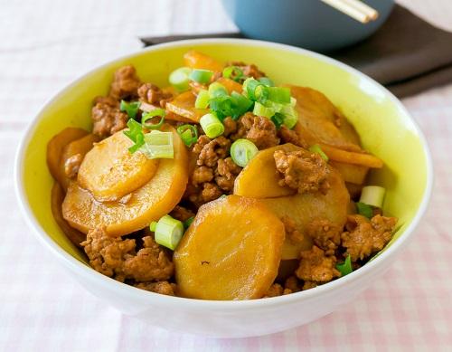 صينية البطاطس باللحمة